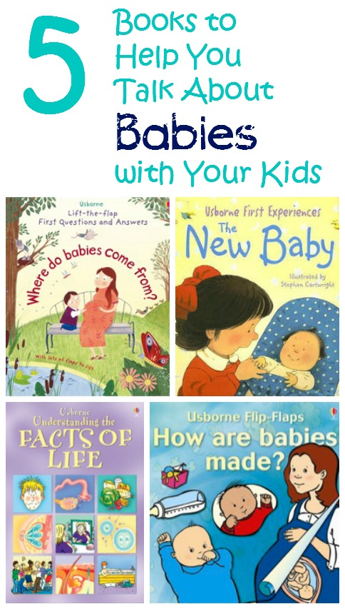 5 Books to Help You Talk About Babies with Your Kids