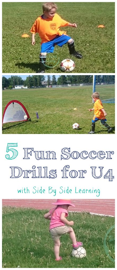 Fun Soccer Drills U4