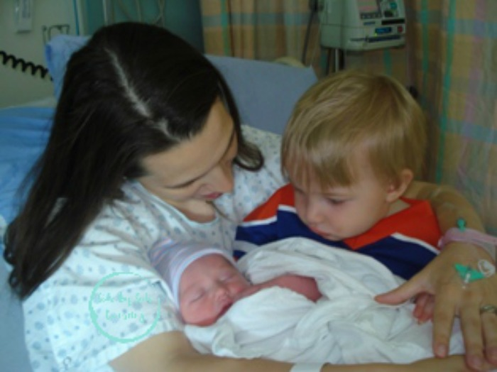 Sweets birth story sibling