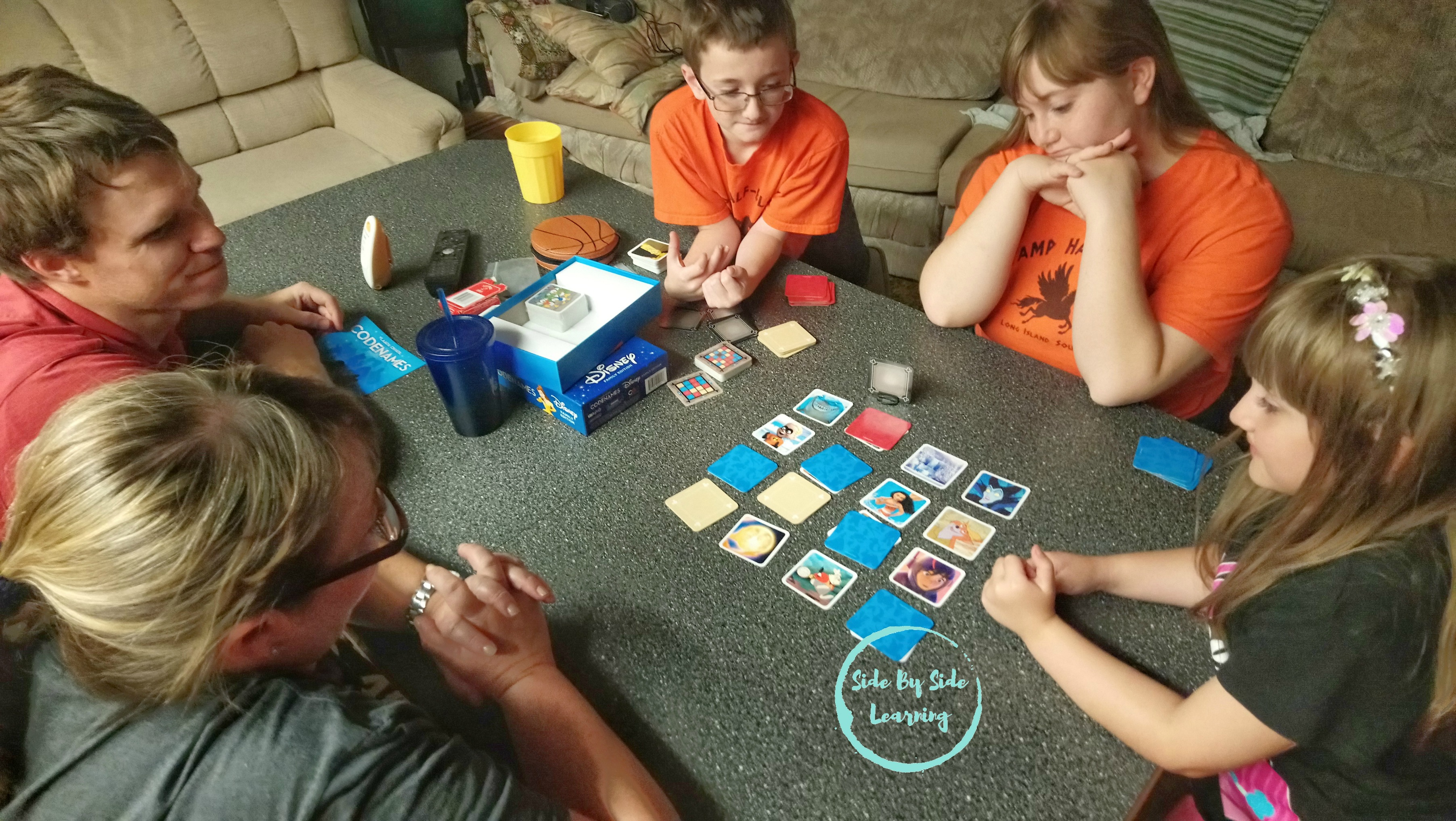 Codenames Disney Family Game