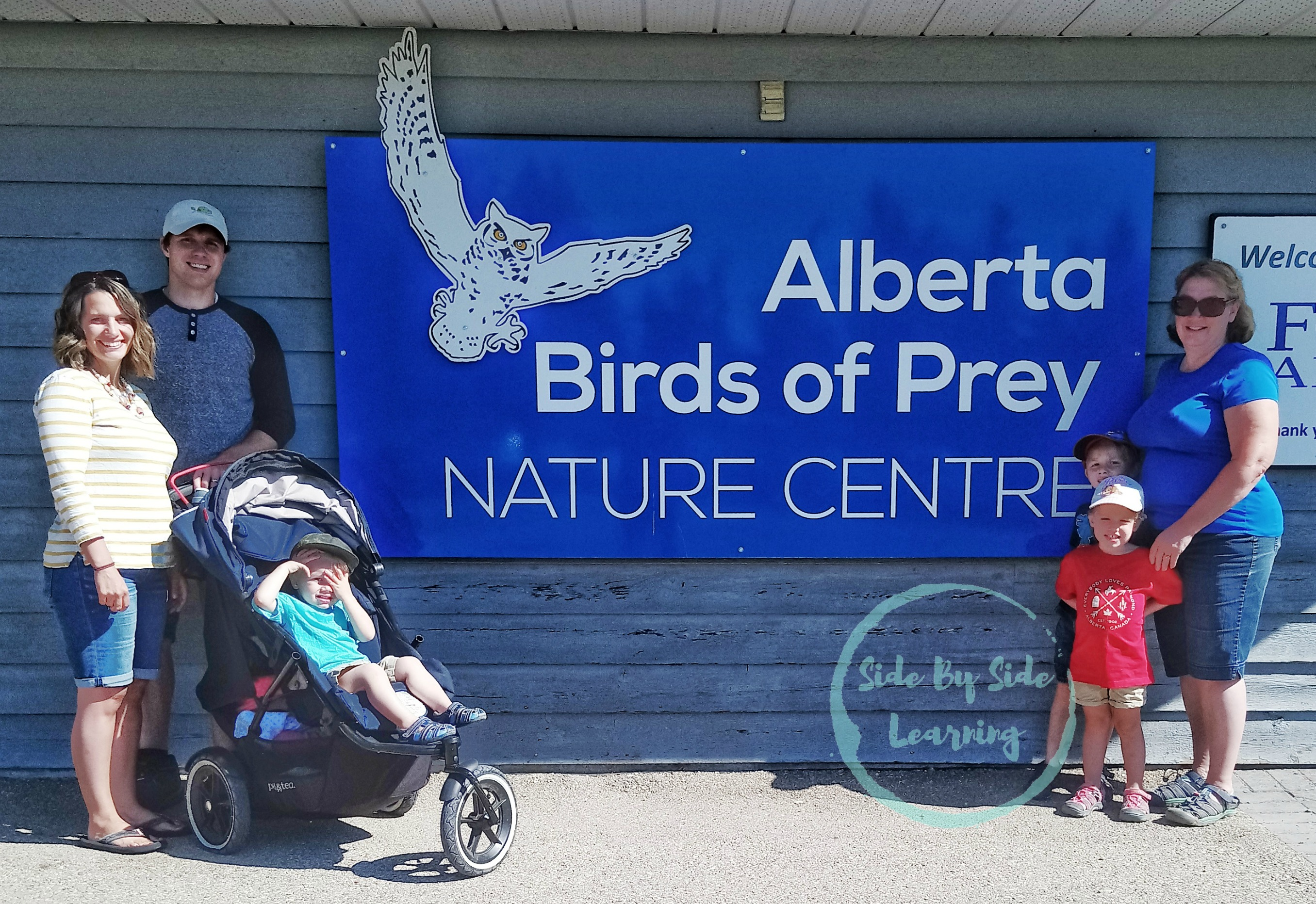 Alberta Birds of Prey Center Front Sign