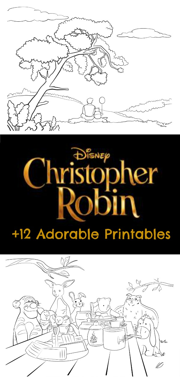 Christopher Robin 12 Adorable Printables