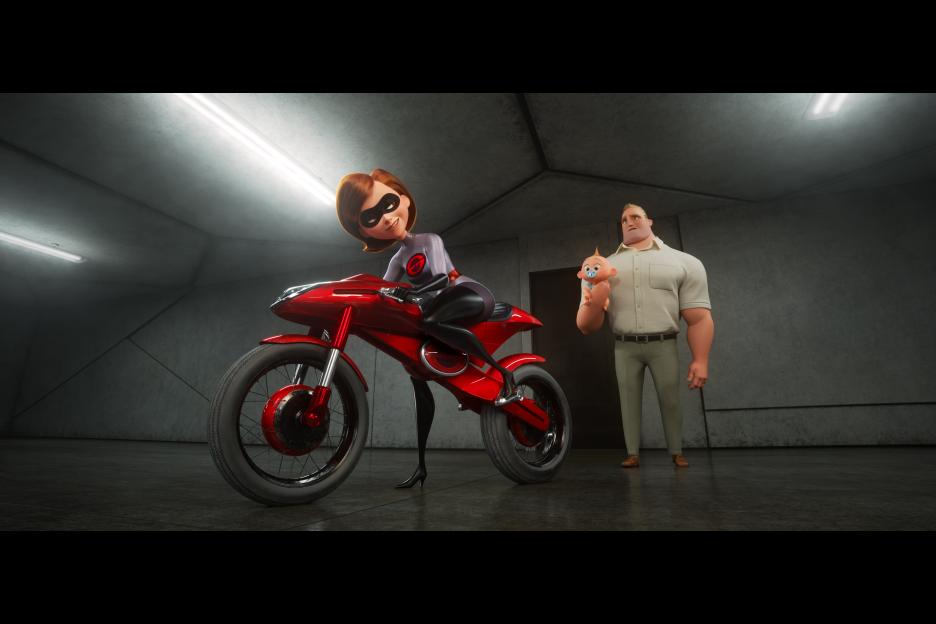 Incredibles 2 Elastigirl Motorcycle