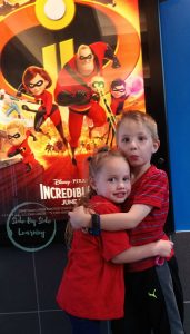 The Incredibles 2 Sibling Birthday Gift