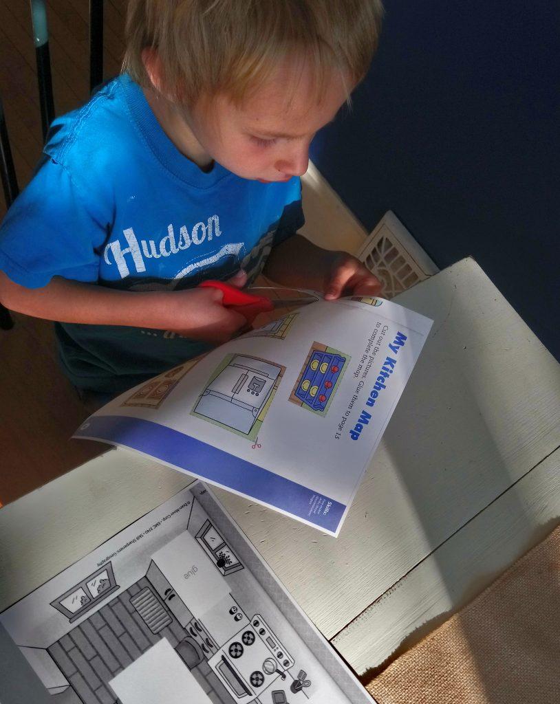 Kindergarten Geography Evan-Moor Skill Sharpeners Review Map