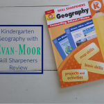 Kindergarten Geography with Evan-Moor Skill Sharpeners Review