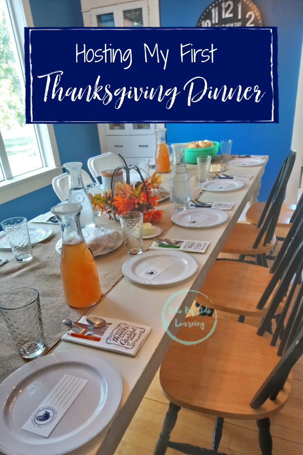 Hosting My First Thanksgiving Dinner Party