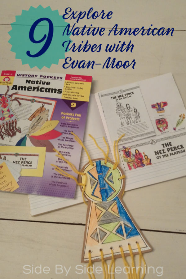 Native American History Pocket Review with Evan-Moor