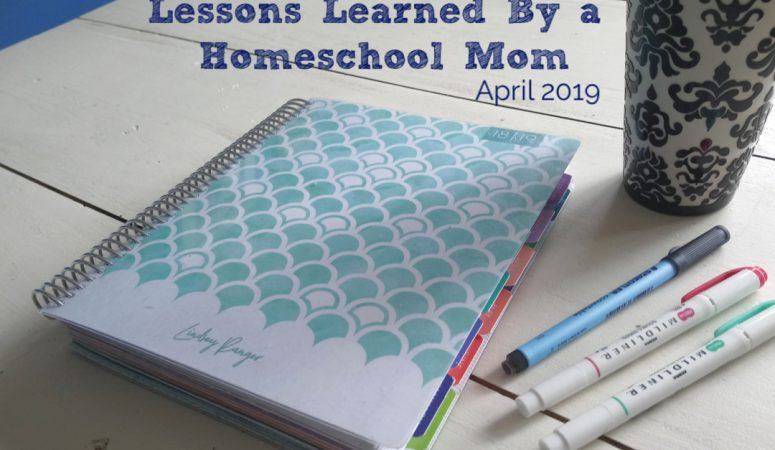 Lessons Learned By a Homeschool Mom