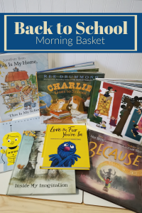 Back to School Morning Basket