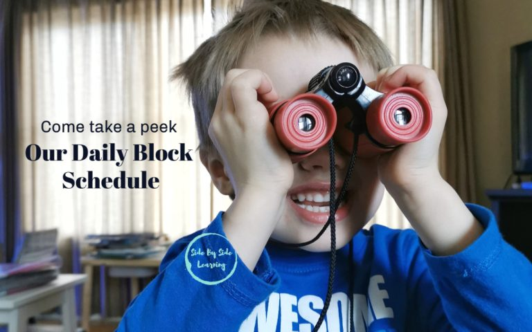 Our Daily Homeschool Block Routine