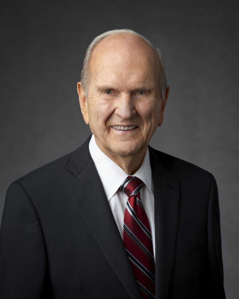 Russell M Nelson Portrait