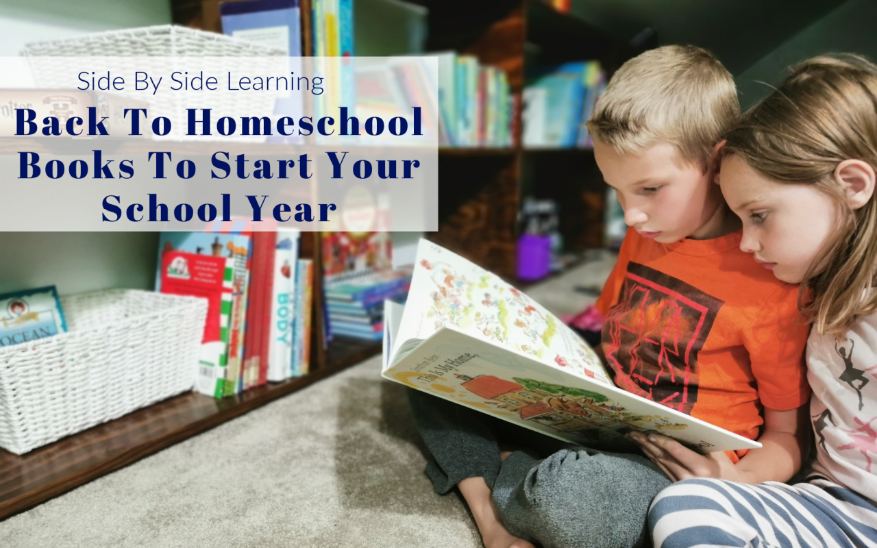 Back to Homeschool Books for Homeschoolers