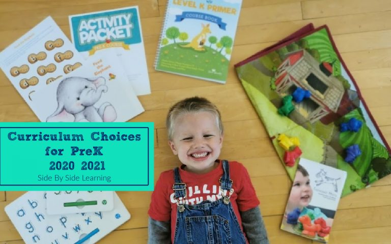 Prek Homeschool Curriculum Choices 2020-2021