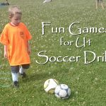 Fun Games for U4 Soccer Drills