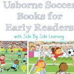Usborne Soccer Books for Early Readers