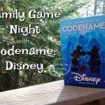 Family Game Night Codename Disney
