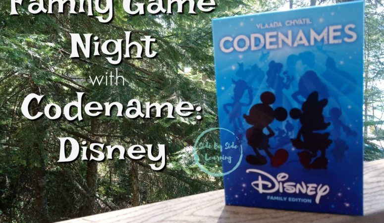 Family Game Night with Code Names: Disney