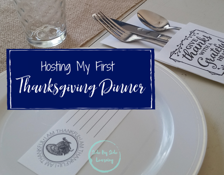 Hosting My First Thanksgiving Dinner