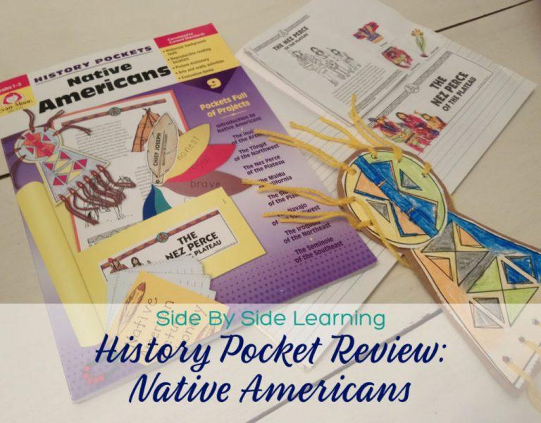 Native Americans with Evan-Moor History Pocket